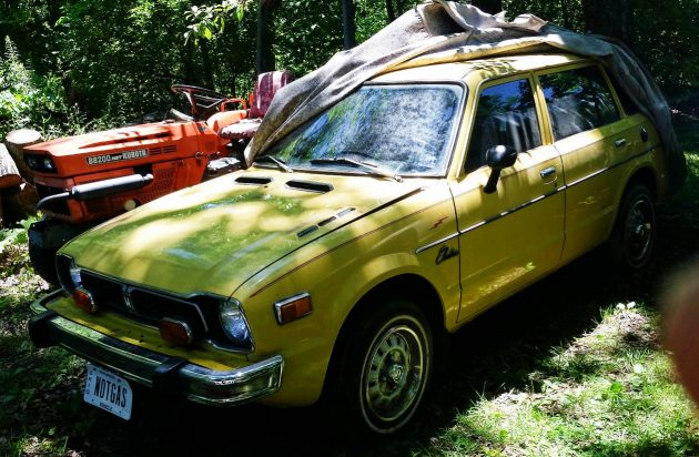 EXCLUSIVE: Electric 1975 Honda Civic Wagon