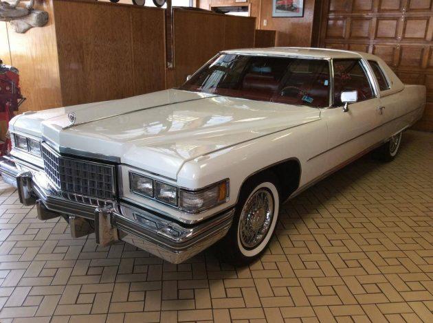 White Elephant: 1976 Cadillac Coupe De Ville