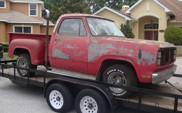 Factory Muscle Truck: 1979 Dodge Lil' Red Express