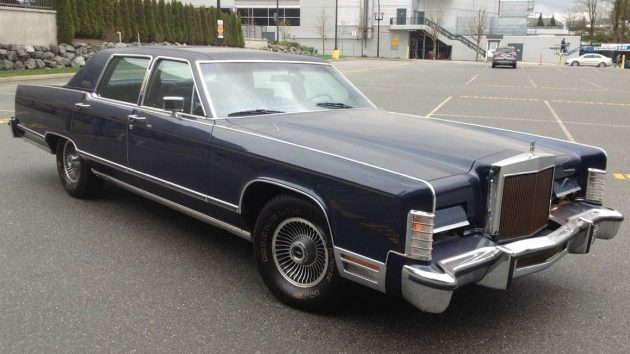 One Owner! 1979 Lincoln Continental Town Car