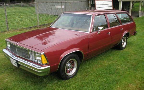 Manual Equipped G-Body: 1980 Chevrolet Malibu Wagon