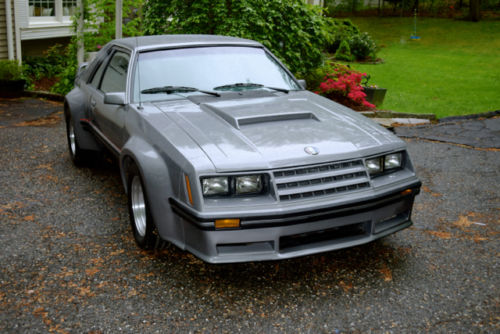 1982 Mustang Gt >> Flared Fox Body 1982 Ford Mustang Gt Imsa