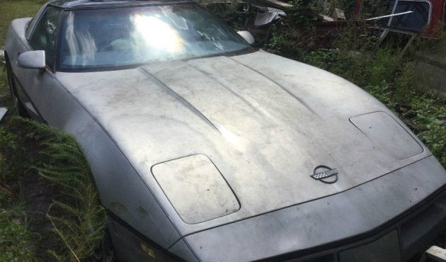 Junkyard Rescue: 1985 Chevy Corvette