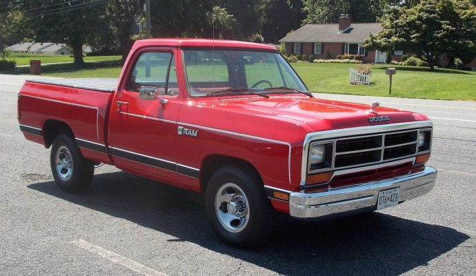 Shop Truck Candidate: 1987 Dodge Ram D-150 Shortbed