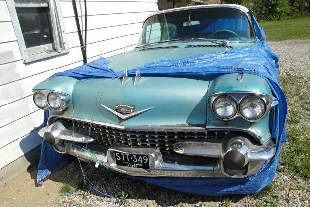 Tarp Find: 1958 Cadillac Deville