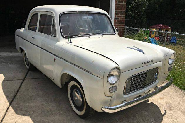 Clean English Tin: 1959 Ford Anglia 100E