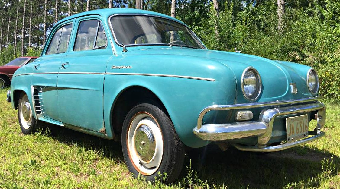Cheap French Commuter 1959 Renault Dauphine