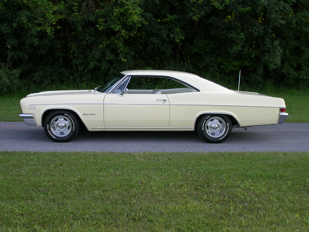 Big Block 4 Speed: 1966 Impala SS 396 Convertible