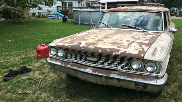 289/3 Speed: 1963 Ford country Sedan