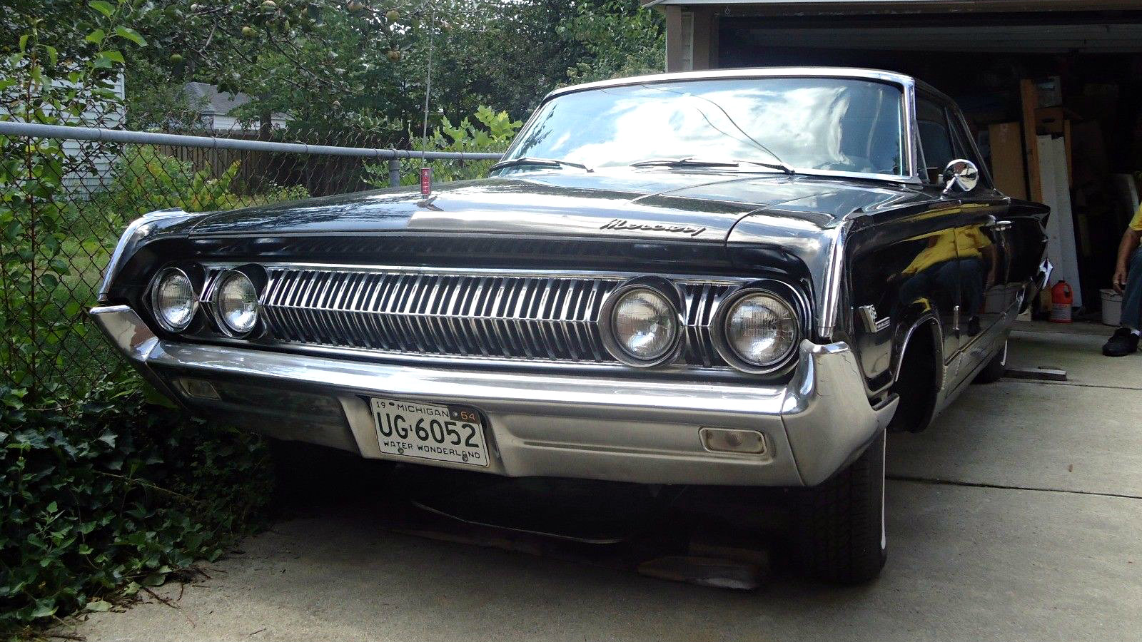 Classic Muscle Cars For Sale >> Fastback 4 Speed: 1964 Mercury Marauder Park Lane