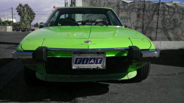 First Year X: 1974 Fiat X1/9