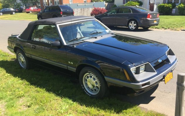 BF AUCTION: 1986 Ford Mustang GT Convertible