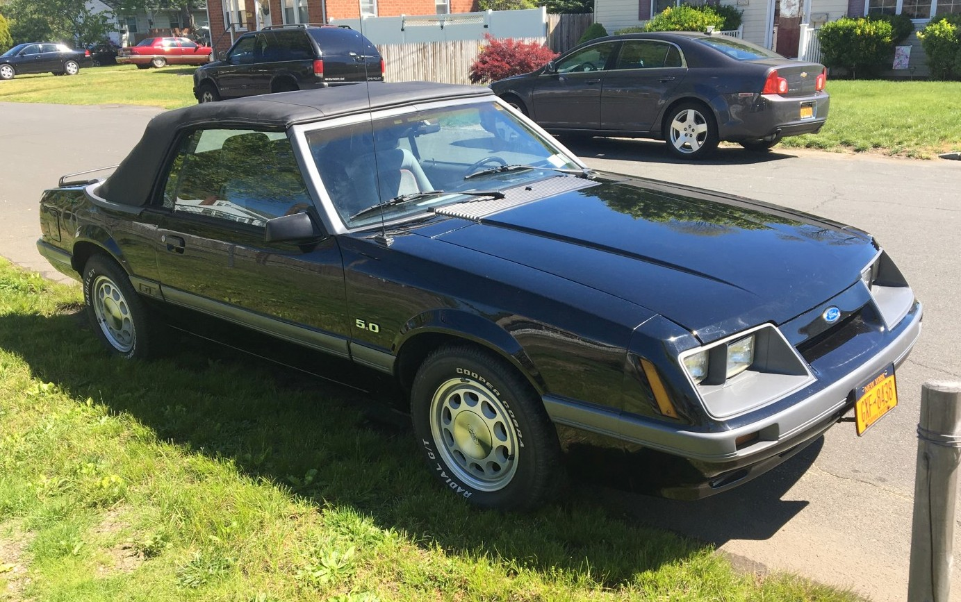 Bf Auction 1986 Ford Mustang Gt Convertible 86 Fuel Filter Location