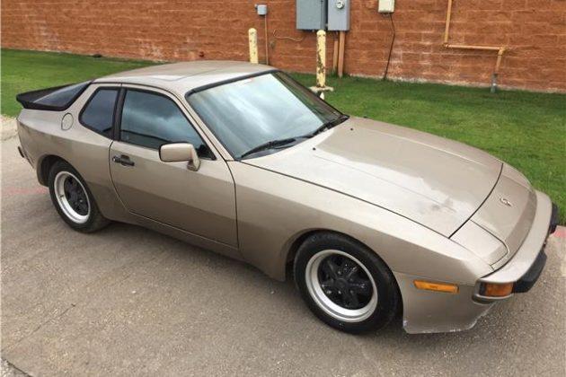 Bargain Porsche Project: 1983 Porsche 944