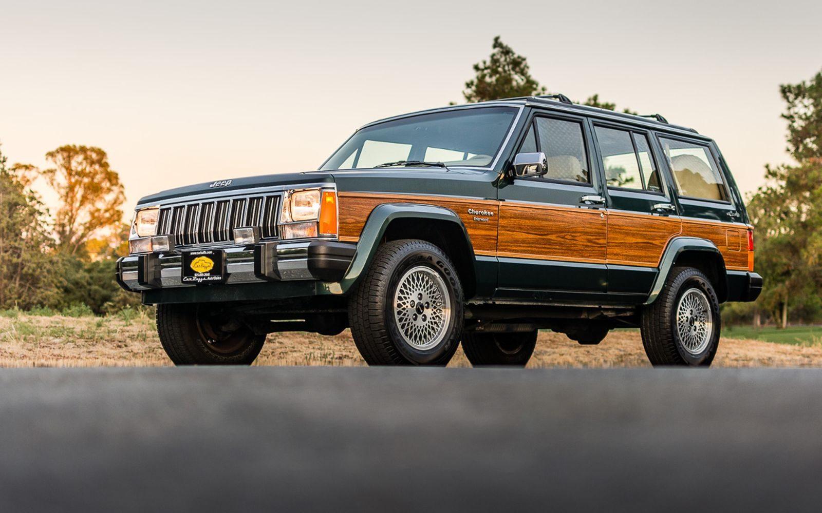 Cherokee Xj For Sale >> Mini Wagoneer: 1992 Jeep Cherokee Briarwood