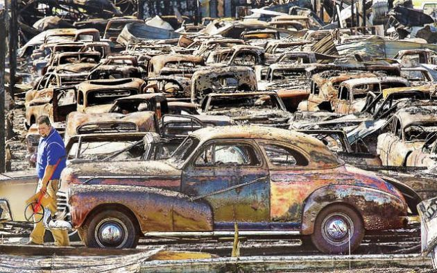 Over 150 Classic Cars Destroyed In Fire