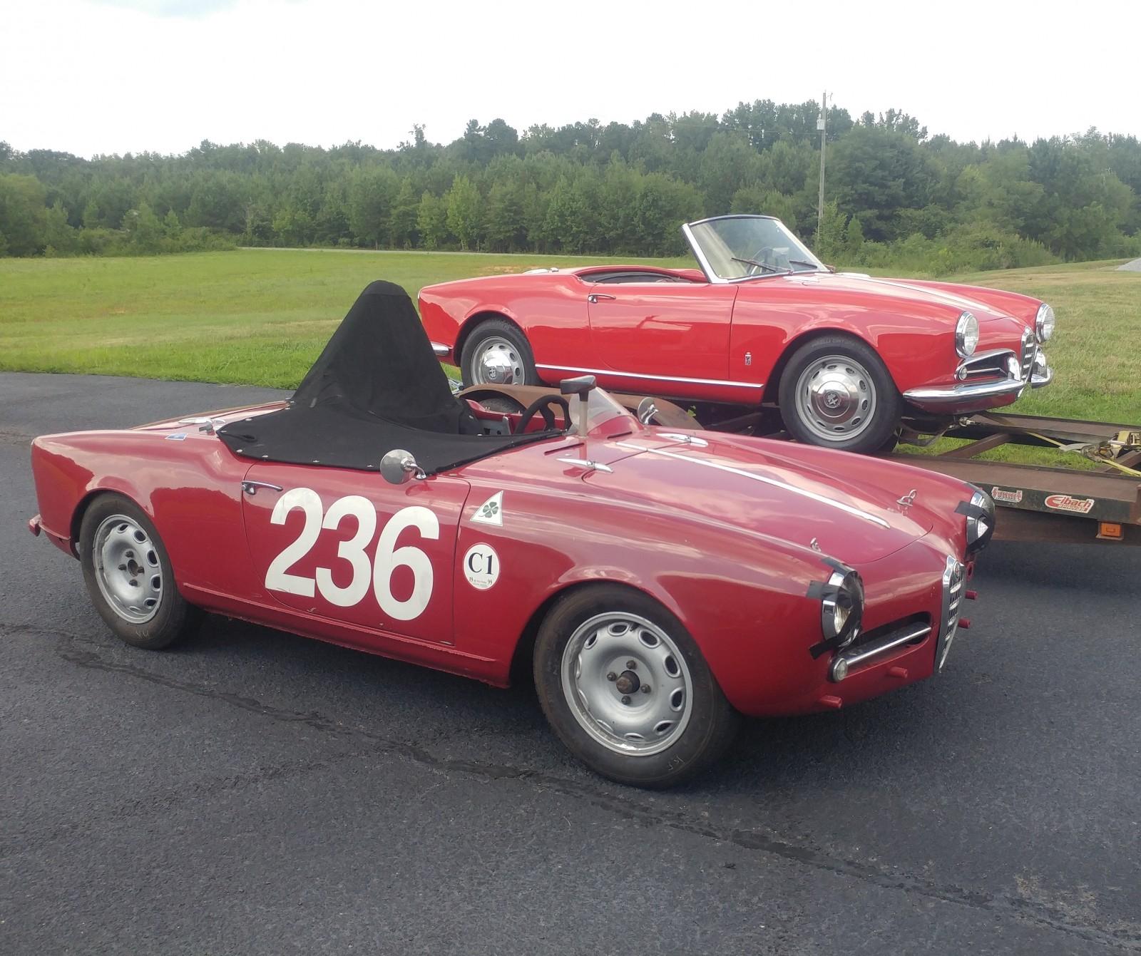 BF AUCTION: 1963 Alfa Romeo Giulia 1600 Spider