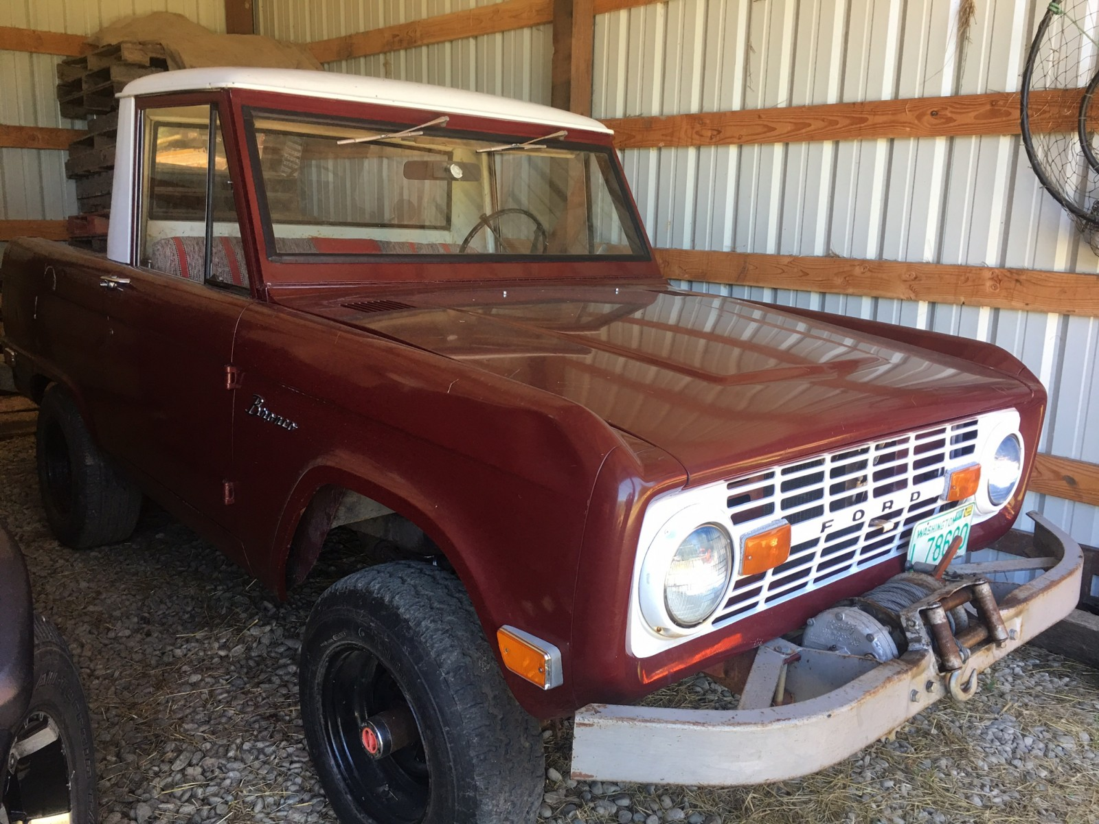 First Year Rig 1966 Ford Bronco