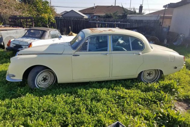 For the Resourceful Cat: 1967 Jaguar 3.8S Two-for-One