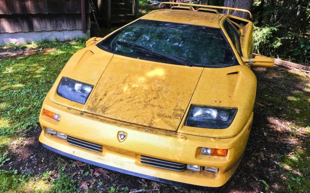 Could It Be Real 1994 Lamborghini Se30 Yard Find