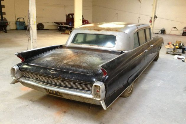 Black Car Bargain: 1962 Cadillac Fleetwood 75