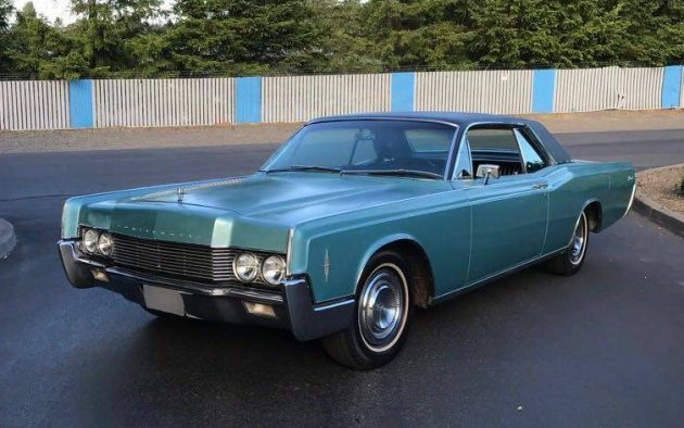 a matter of perspective 1966 lincoln continental. Black Bedroom Furniture Sets. Home Design Ideas