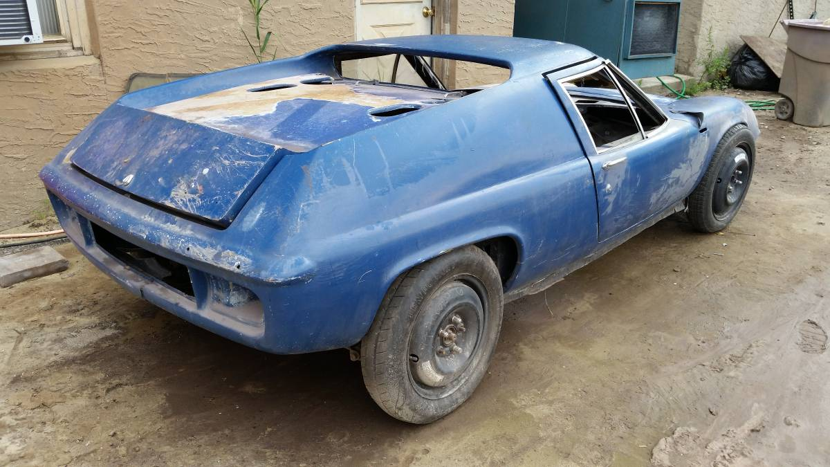 350 Lotus Europa Project