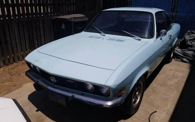 Rüsselsheim Redux: 1973 Opel Manta