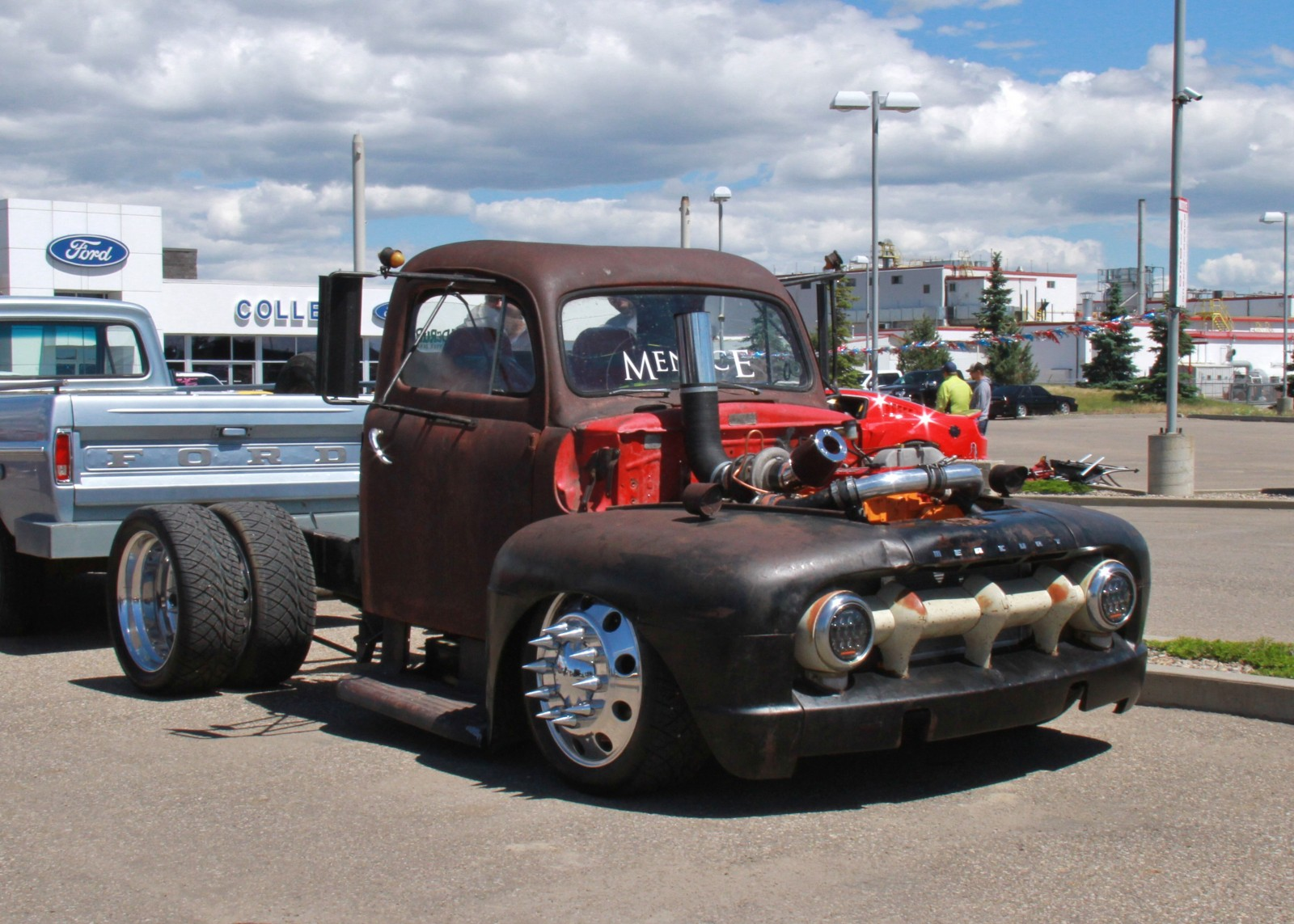 3 Cylinder Air Cooled Diesel 1950 Ford Hot Rod Truck