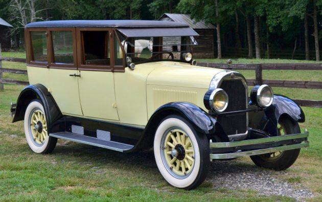 BF AUCTION: 1925 Peerless 6-70 Sedan