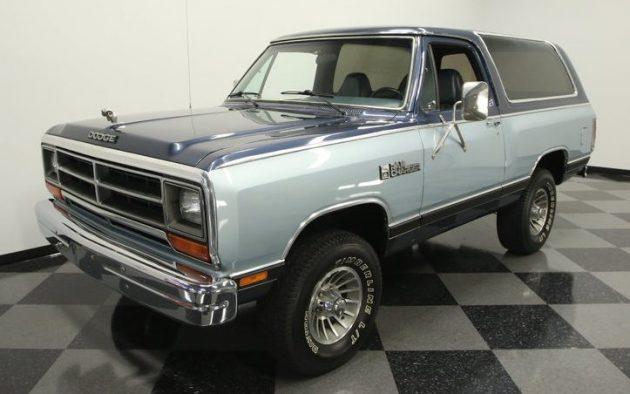 Dodge Charger List >> Extinct Beast: 1987 Dodge Ramcharger
