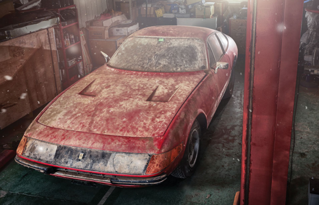 One of One: Japan-Found Ferrari Daytona Alloy