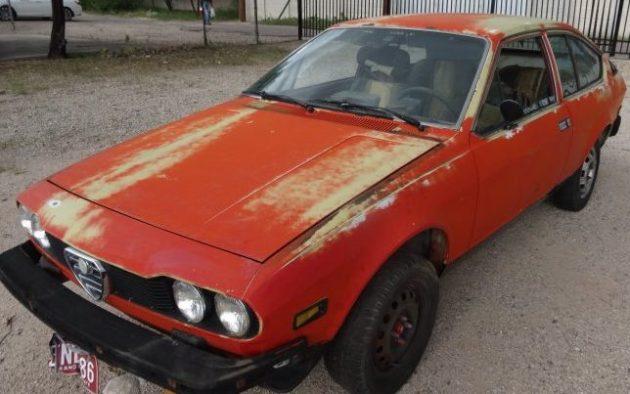 Spouse Neglect: 1976 Alfa Romeo GTV