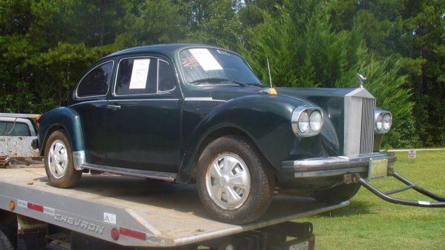 Pint-Sized Rolls-Royce: 1974 Volkswagen Beetle