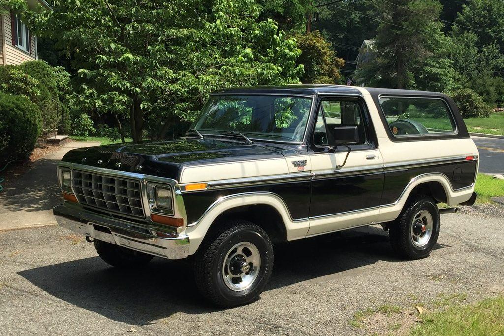 Two Tone Low Mileage Survivor 1978 Ford Bronco