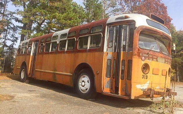 Big Barn Find: 1950 GM Transit Bus