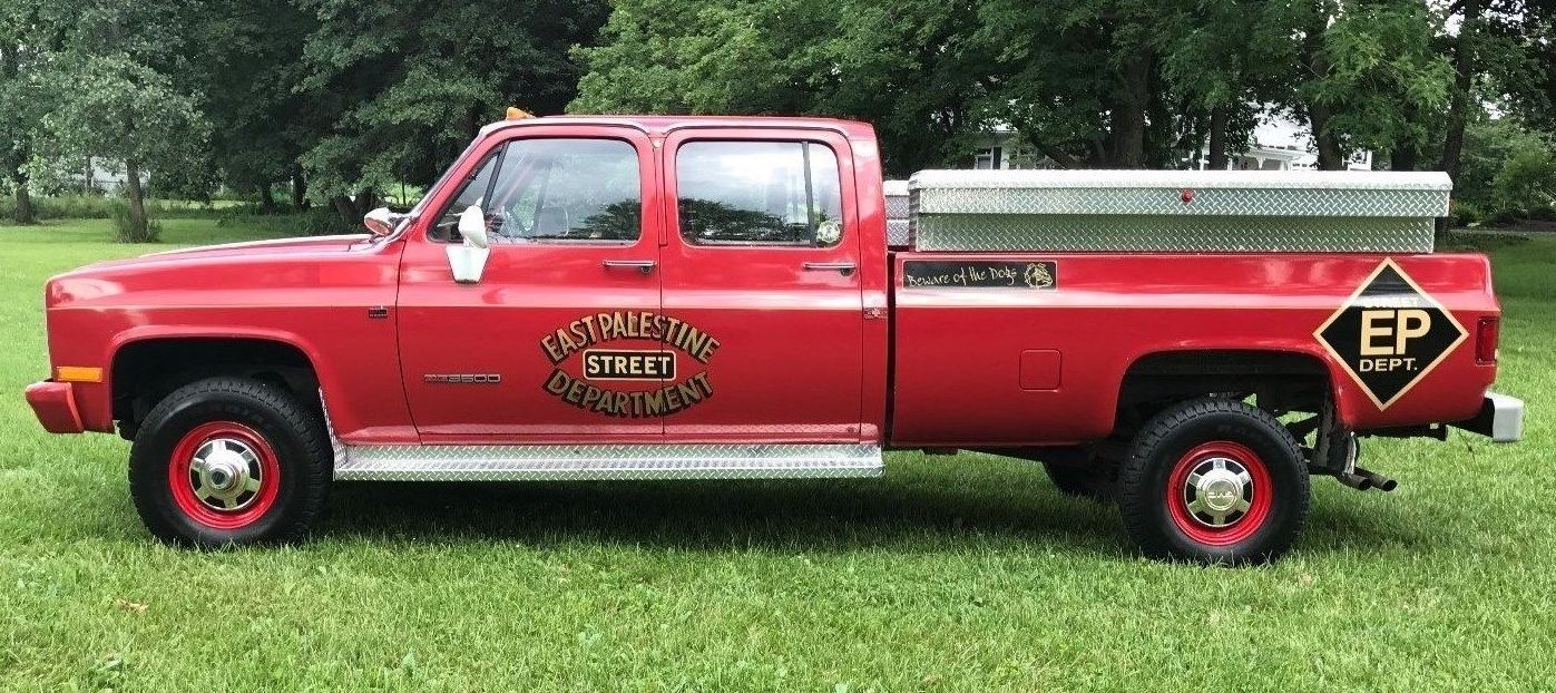 14K Mile Firetruck: 1989 Chevy 3500