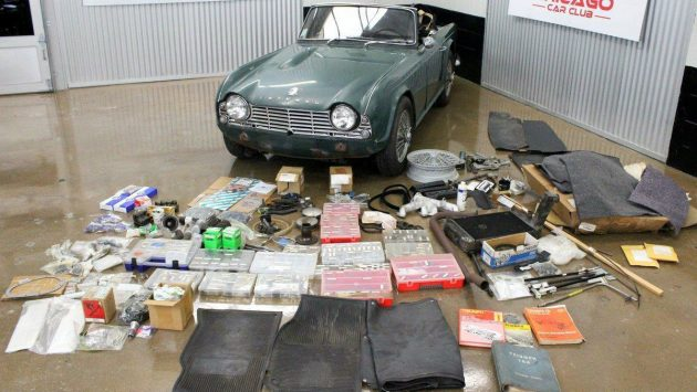 One Owner, Lots Of Parts! 1963 Triumph TR4