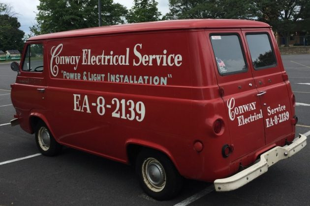 Retired Workhorse: Well-Preserved 1962 Ford Econoline
