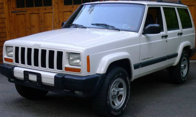 4,500 Miles from New: 2000 Jeep Cherokee Sport