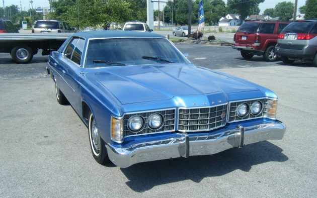 Four Door Survivor 1973 Ford Ltd