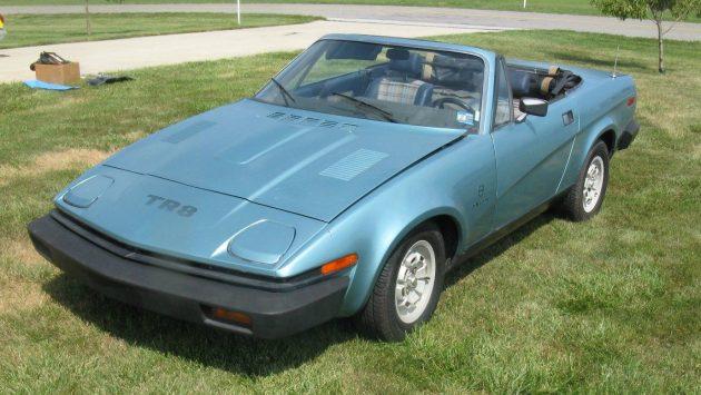 Blue Cheese Wedge: 1980 Triumph TR8