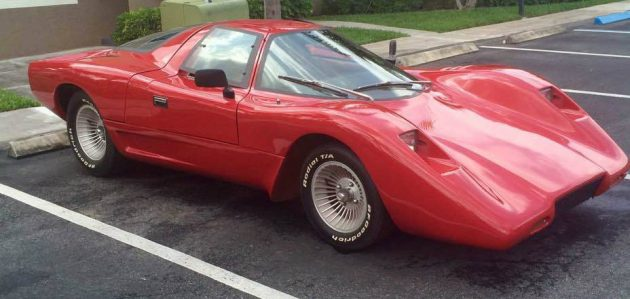 Hardcastle Mccormick Fame Coyote X Kit Car