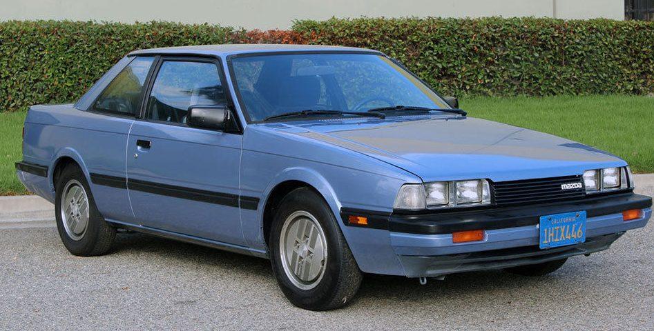 Clean Third Gen Coupe  1983 Mazda 626