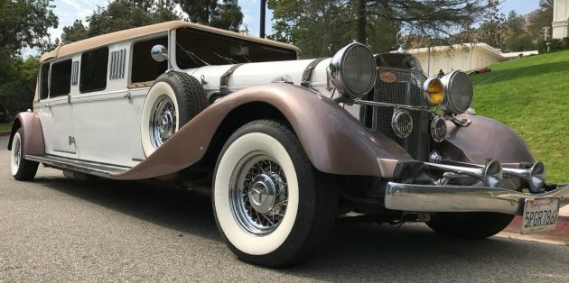Hand Built: Mercedes Landaulet Replica