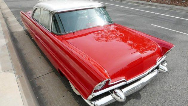 1956 Lincoln Premiere Capri: A Little Custom