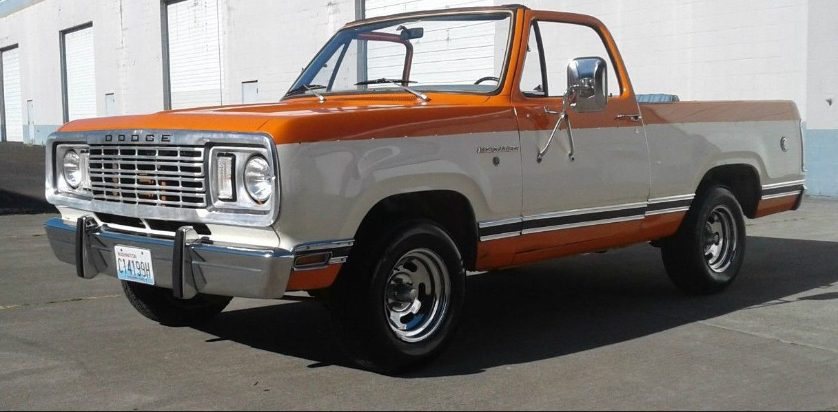 Dodge Charger List >> 2WD Creamsicle: 1978 Dodge Ramcharger