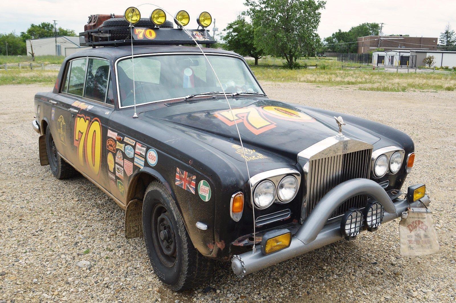 Rally Rolls 1970 Rolls Royce Silver Shadow
