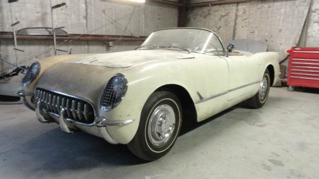 Unrestored And Waiting! 1954 Corvette