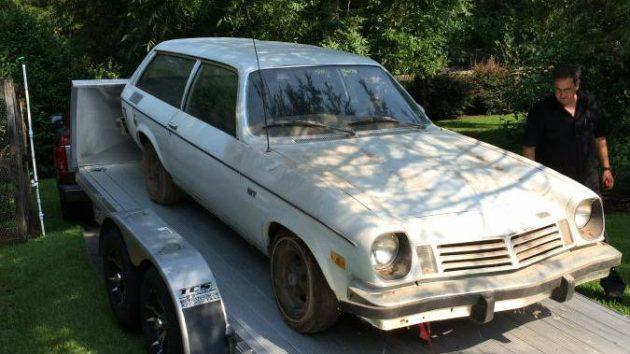 Craigslist Cars For Sale Augusta Ga: Mystery Engine: 1974 Chevrolet Vega GT Barn Find